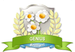 Gardenality Genius achievement earned on 9/1/2012 12:00:00 AM.