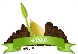 Gardenality Sprout achievement earned on 6/1/2012 11:09:54 AM.