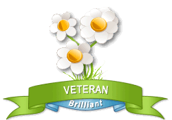 Gardenality Veteran achievement earned on 10/1/2011 7:17:35 PM.